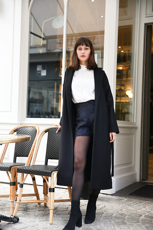 Manteau Le Lipp noir