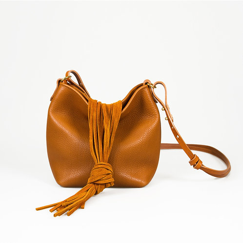 Sac Mina medium camel