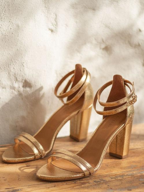 Sandales n°853 dorées
