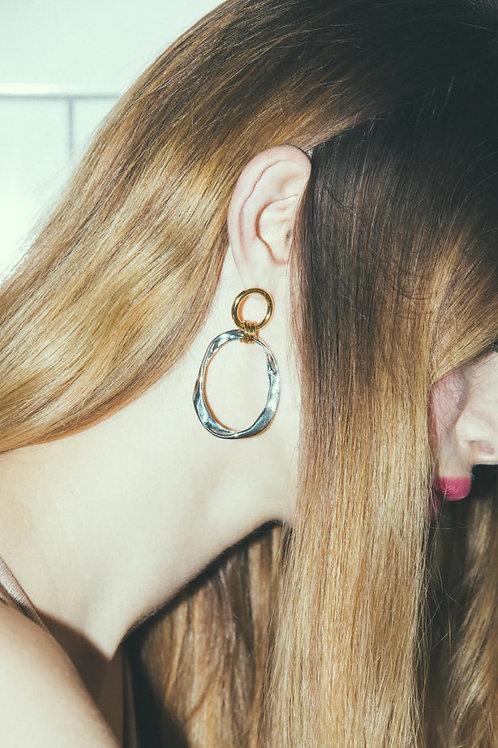 Boucle d'oreille Rive droite