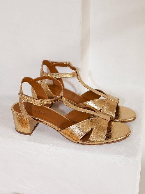 Sandales n°452 gold