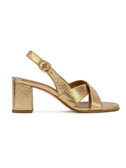 Sandales n°652 dorées