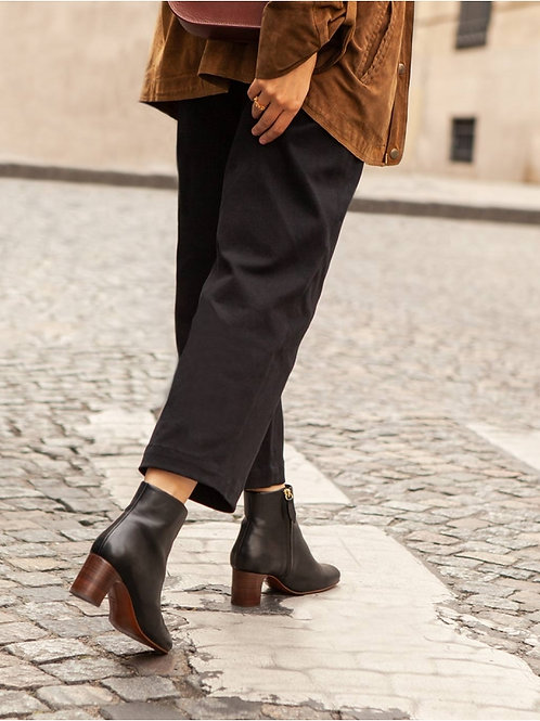 Bottines n°290 cuir noir