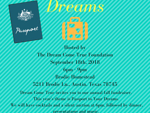 You're invited to Passport to Your Dreams: Our Fall Event