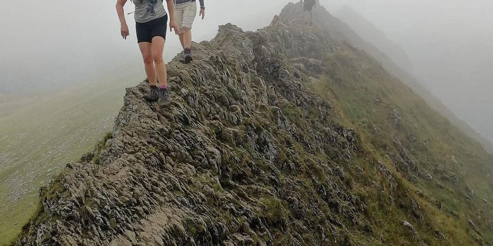 Helvellyn - Striding and Swirral Edges
