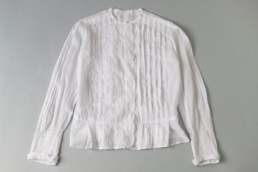 cotton laced blouse