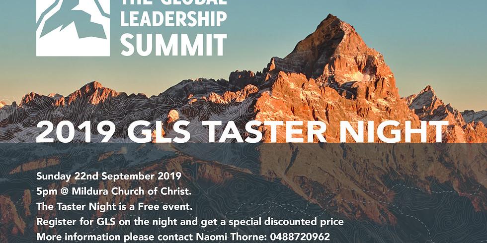 2019 GLS Taster Night