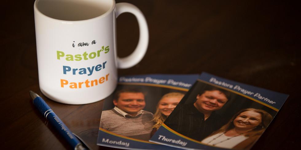 Pastors Prayer Partner Dinner