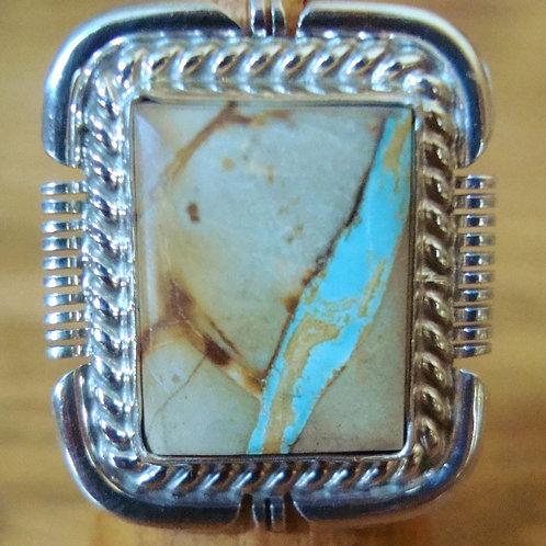 Boulder Ribbon Turquoise Ring