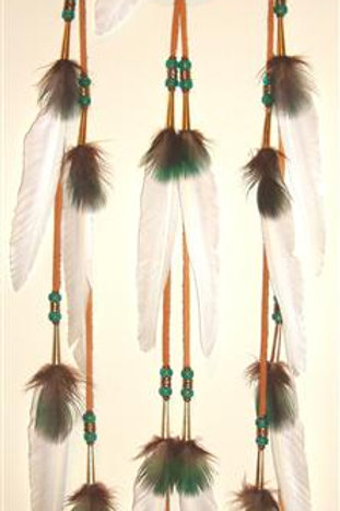 Peacock and Duck Dream Catcher
