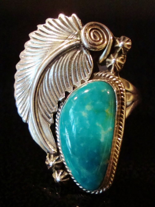 Beautiful Turquoise Ring By RB