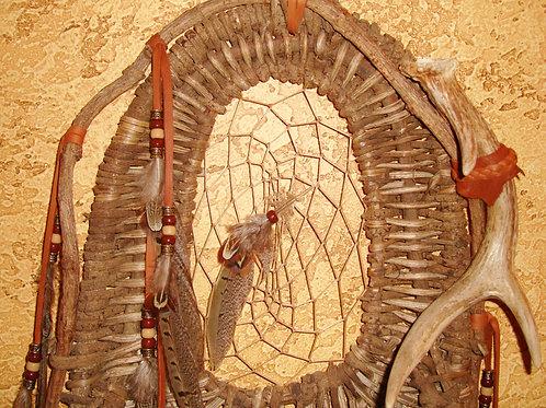 Burden Basket With Dream Catcher Center