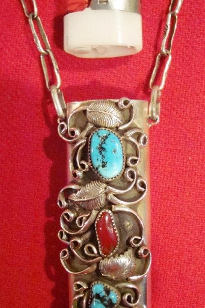 Secret Hide Out Bic Necklace Or Bic Lighter Case Necklace