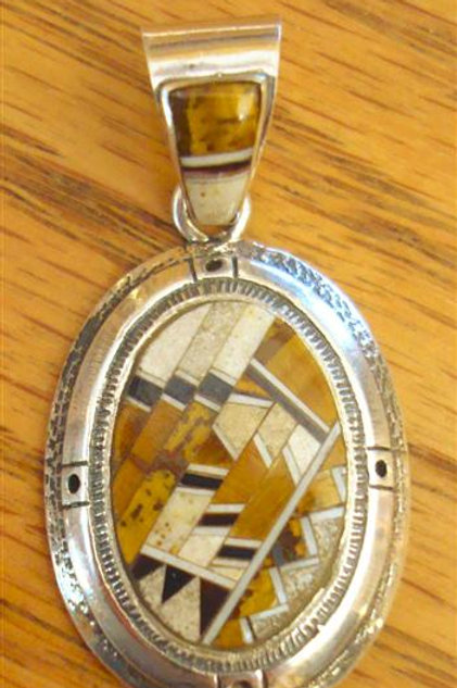 Great Inlay Pendant