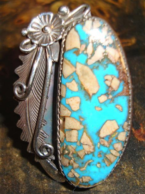 Very Unusual Turquoise Ring