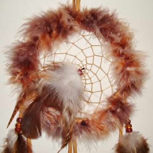 Fluffy Feather Dream Catchers