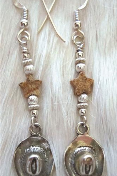 Sterling Cowboy Hats & Picture Jasper Star