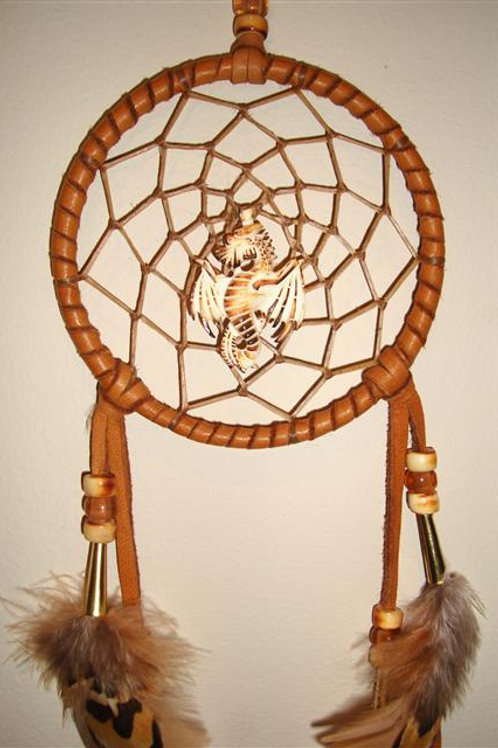 Bone Dragon Center In Dream Catcher