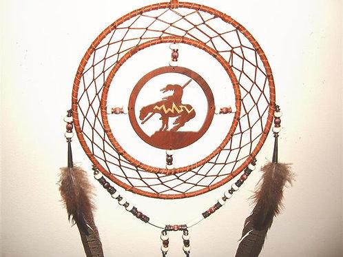 End Of The Trail Medicine Wheel  & Dream Catcher