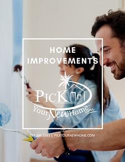 Home Improvements Cover Scott Pickering.