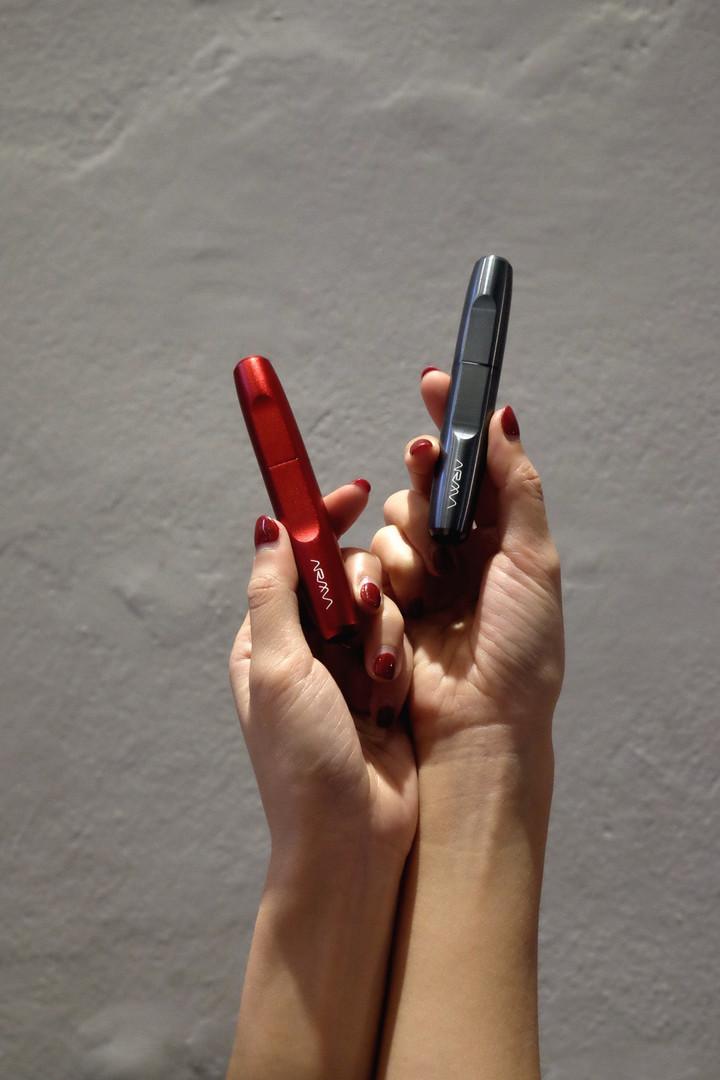 red velvet and Titanium
