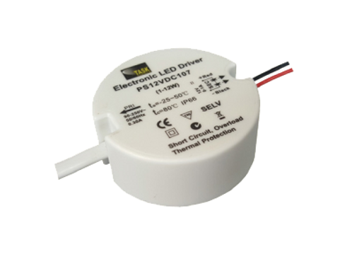 Constant Voltage DC 12V (PS12VDC107 - 12W)