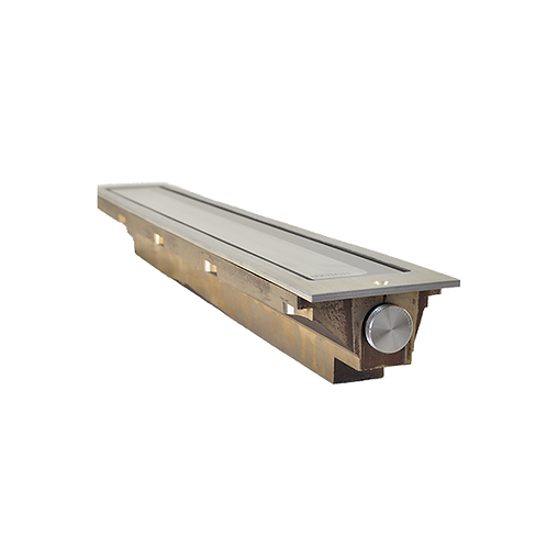 Hunza™ Cast Solid Bronze Adjustable Linear Light