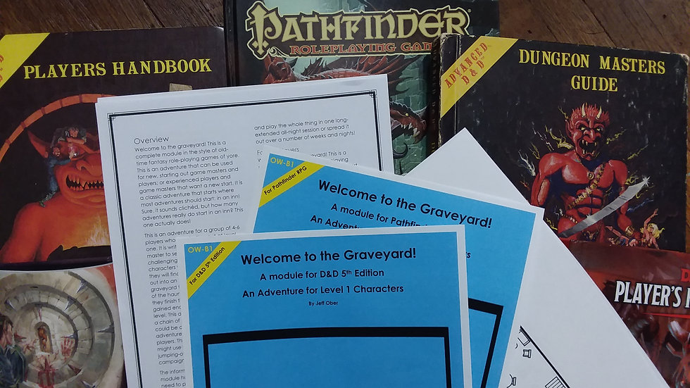 Welcome to the Graveyard (Pathfinder) PDF