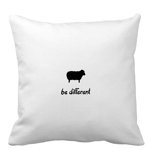 """""""Be Different"""" Pillow"""