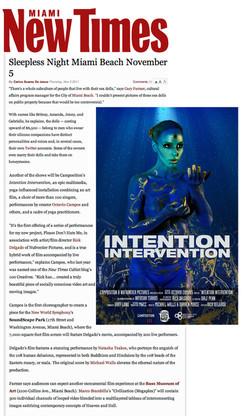 NEW TIMES ART IntentionIntervention