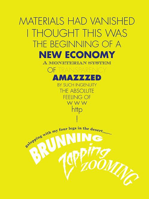 """A New Economy"" Wall Art"