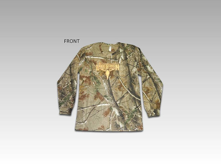 Men's Long Sleeve Realtree Camo Shirt