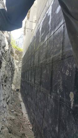 Etanchéité Murs Enterrés
