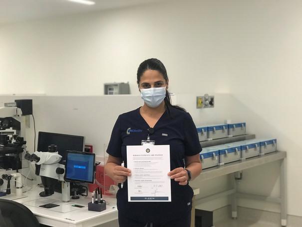 Embryologist, HRC Pasadena