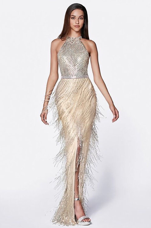 Fringe Gown