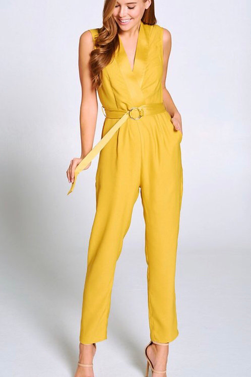 Crossover Tailored Jumpsuit