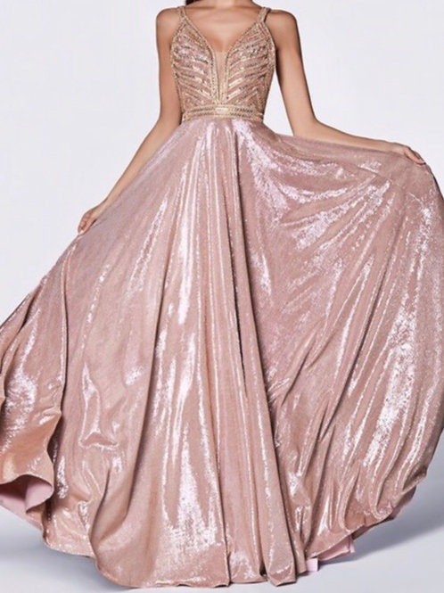 Metallic Ballgown