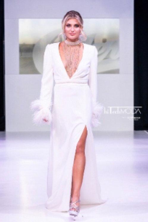 Custom Plunge Dress