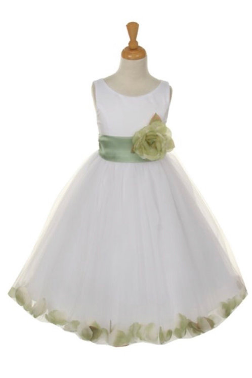 Tulle Petal Dress