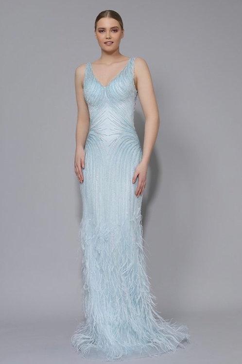 Custom Beaded Gown