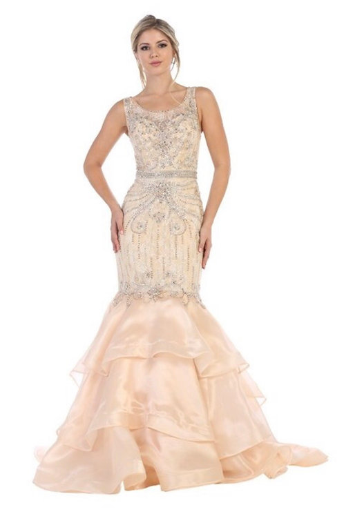 Fitted Mermaid Gown