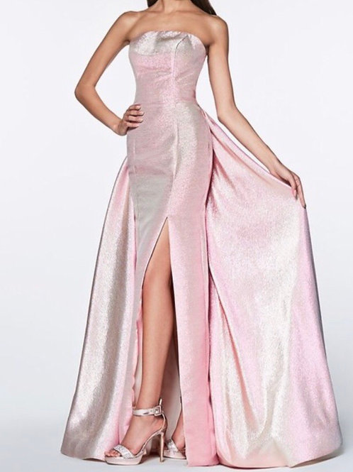 Metallic Opal Pink Gown