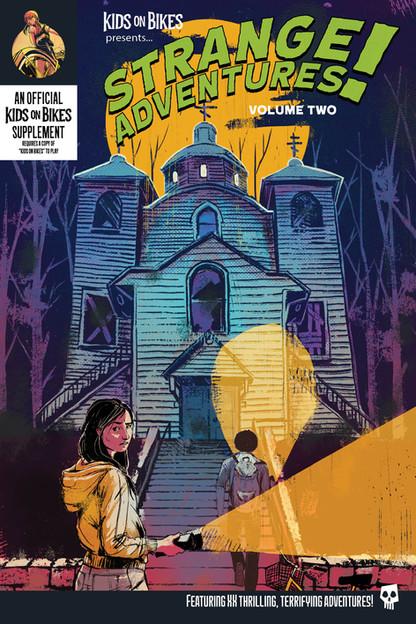 Strange Adventures 2 Final cover