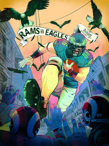 Gameday Series 2020: Rams at Eagles 9/20