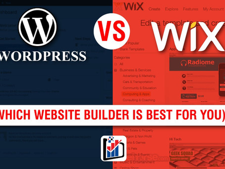 WordPress Vs. Wix (Which Website Builder is Best for you)