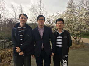 Best wishes to Haoyang's trip to China