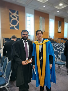 Congratulations to Sreeram Chandralal for UCD Presidents Awards 2020