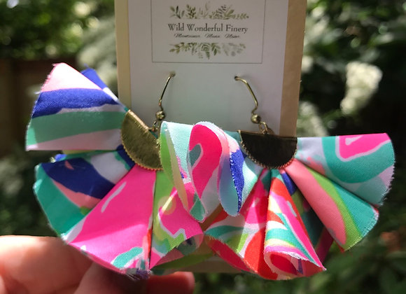 Lilly Ruffle Earrings