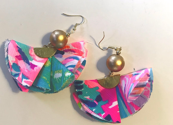 Lilly Mixed Pattern Earrings