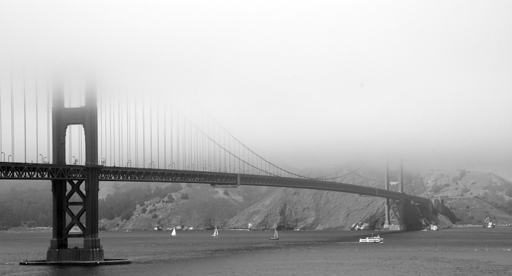 Golden Gate Fog - Ginger Burrell